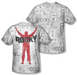 Rocky - News Press (Front/Back Print) T-shirts