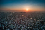 Tokyo at Dusk Photographic Print by Gavin Mills Photography