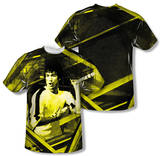 Bruce Lee - Stripes (Front/Back Print) T-Shirt