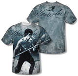 Bruce Lee - Whoooaa (Front/Back Print) Shirts