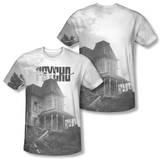 Psycho - Bates House (Front/Back Print) T-shirts