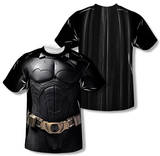 Batman Begins - Begins Costume (Front/Back Print) T-Shirt
