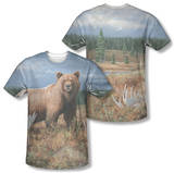 Wild Wings - Autumn Splendor (Front/Back Print) T-shirts