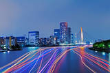 Night View of Tokyo at Night Photographic Print by Photography by ZhangXun