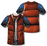 Back to the Future - Mcfly Vest (Front/Back Print) Vêtement
