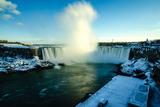 Snowy Niagara Photographic Print by Naeem Jaffer