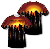 Dawn Of The Dead - Swarm (Front/Back Print) T-Shirt