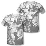 Superman - Power Within (Front/Back Print) T-shirts