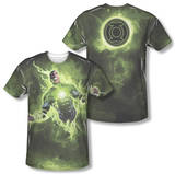 Green Lantern - Inner Strength (Front/Back Print) T-Shirt