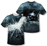 Dark Knight Rises - Big Poster (Front/Back Print) T-Shirt