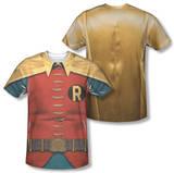 Batman Classic TV - Robin Costume (Front/Back Print) Vêtement