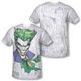 Batman - Laugh Clown Laugh (Front/Back Print) T-Shirt