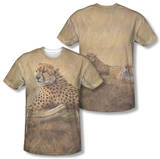Wild Wings - African Cats (Front/Back Print) T-Shirt