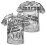 The Three Stooges - Tunis 1500 (Front/Back Print) Sublimated