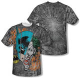 Batman - Broken Visage (Front/Back Print) Shirts