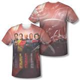 Star Trek - Captains (Front/Back Print) Shirt