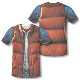 Back to the Future - Mcfly Vest (Front/Back Print) Vêtements