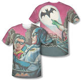 Batman Classic TV - Bat Signal (Front/Back Print) Shirt