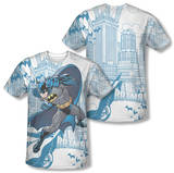 Batman - Skyline All Over (Front/Back Print) Sublimated