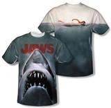 Jaws - Poster (Front/Back Print) Tshirt