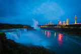 Niagara Falls after Sunset Photographic Print by  www.35mmNegative.com