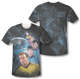Star Trek - Among The Stars (Front/Back Print) T-shirts