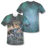 Jurassic Park - Dinos Gather (Front/Back Print) T-Shirt