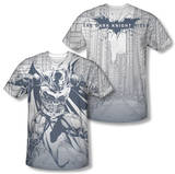 Dark Knight Rises - Concept Justice (Front/Back Print) Shirt