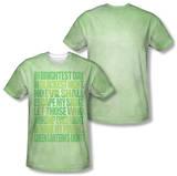 Green Lantern - Oath (Front/Back Print) T-shirts