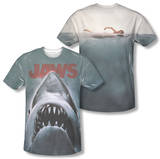 Jaws - Poster (Front/Back Print) Shirts