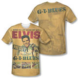 Elvis Presley - GI Blues (Front/Back Print) T-shirts