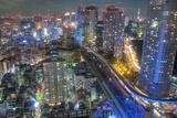 Night View of Tokyo Photographic Print by Takashi Fujimori