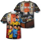 Star Trek - Bridge (Front/Back Print) T-Shirts