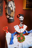 Day of the Dead Papier Mache Figurine Photographic Print by Julie Eggers
