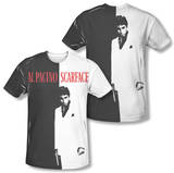 Scarface - Big Poster (Front/Back Print) T-Shirt