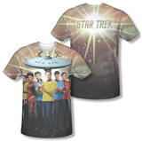 Star Trek - Original Crew (Front/Back Print) T-Shirt
