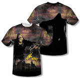 King Kong - Kong In The City (Front/Back Print) T-shirts