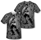 Elvis Presley - Rockin All Over (Front/Back Print) T-Shirt