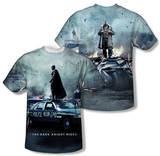 Dark Knight Rises - Standoff (Front/Back Print) T-shirts