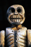 Detail of Day of the Dead Skeleton Sculpture Photographic Print by Paul Edmondson