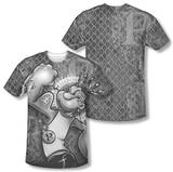 Popeye - Spinach Kng (Front/Back Print) Sublimated