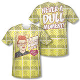 I Love Lucy - Warm All Over (Front/Back Print) T-Shirt
