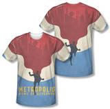 Superman - Home (Front/Back Print) T-Shirt