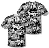 Superman - Comic Strips (Front/Back Print) T-Shirt