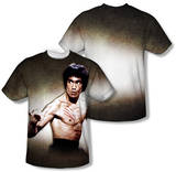 Bruce Lee - Scratched (Front/Back Print) T-Shirt
