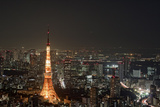 Tokyo Skyline Photographic Print by moments in 3 x 4
