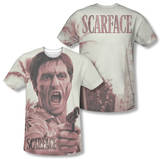 Scarface - War Cry (Front/Back Print) T-Shirt