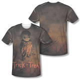 Trick R Treat - Trick Poster (Front/Back Print) T-Shirt