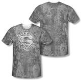 Superman - Unchain The King (Front/Back Print) T-shirts