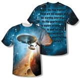 Star Trek - Final Frontier (Front/Back Print) T-shirts